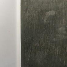 German Exercises, konjuktiv, Öl auf Papier auf Holz, Wandmalerei